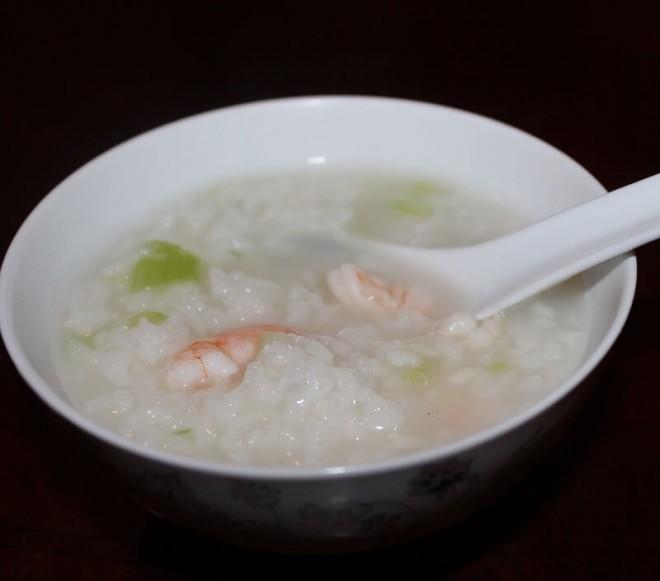 Celery Shrimp Congee
