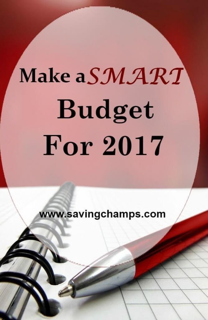 make a smart budget