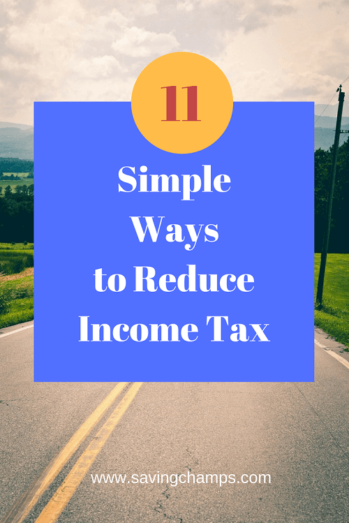 how to reduce income tax
